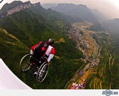 Wheelchair Skydive Jump