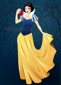 Snow White by paufranco on deviantART
