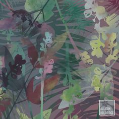 Flora // Allison Holdridge #floral #pattern