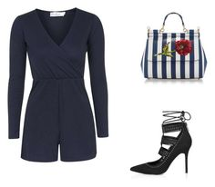"""""""Untitled #11922"""" by danisalalkamis ❤ liked on Polyvore featuring Oh My Love, Topshop and Dolce&Gabbana"""