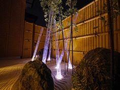 心なごます、和の空間。観て楽しむ光の演出。 #lightingmeister #gardenlighting #outdoorlighting #exterior #garden #japanesestyle #healing #relax #light #home #house #pinterest #bamboo #karesansui #和 #癒し #光 #玄関 #家 #竹 #枯山水