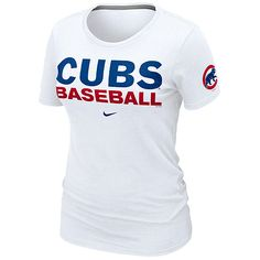 i want this!!! Chicago Cubs Women's Practice T-Shirt by Nike - MLB.com Shop