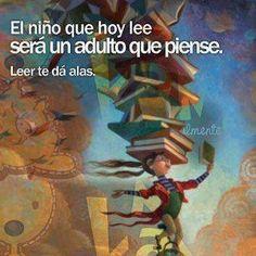 """@DesEquiLIBROS Leer te """"dá"""" alas. El niño que hoy lee… ¿aprenderá ortografía?"""