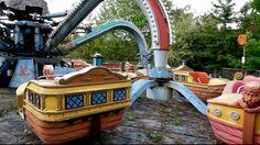 Abandoned Amusement Park, Nara Dreamland amusement park, Japan.