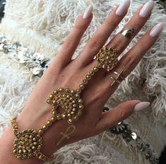 >> ✦☥✦ GÔLD dust ✦☥✦ Indian gold link bracelet <<