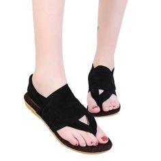 2413c60dc Women Bohemia Platform Shoes Woman Flats Footwear Shoes Beach Flip-Flop  Shoes