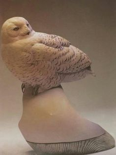 Snowy Owl, Wood Carving, Woodworking Projects, Craftsman, Felt, Clay, Birds, Nature, Artisan