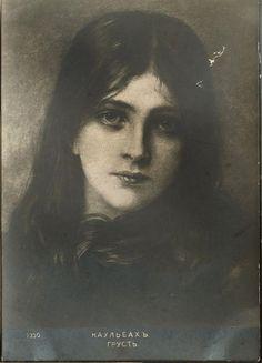 All sizes | Wilhelm von Kaulbach, portrait of a girl | Flickr - Photo Sharing!