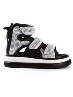Shop KTZ chunky sole sandals in Henrik Vibskov Boutique from the world's best independent boutiques at farfetch.com. Over 1000 designers from 300 boutiques in one website.