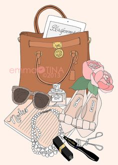 EmmaKisstina Illustrations by Kristina Hultkrantz: Blogger WIMB: Sandra of Blasfemmes