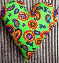 Hier mein 135 Herz für Euch: Ein bunter Farbenrausch