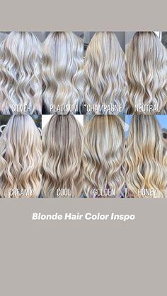 Blonde Hair Shades, Blonde Hair Looks, Platinum Blonde Hair, Toner For Blonde Hair, Summer Blonde Hair, Darker Roots Blonde Hair, Girls With Blonde Hair, Highlighted Blonde Hair, Blonde Long Hair