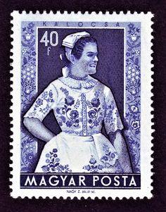 1953 40 fillér Postage Stamps, Hungary, World, Stamps