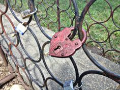 Locked in Love | Come to Hell, Michigan and lock your love for eternity. Bring a padlock, and throw your key into Hell Creek to seal your love. This tradition started in Paris, the city of love; we wanted to bring this special tradition to Hell. ~ Lock of Love - Go to Hell, Michigan - Great Family Friendly Place!