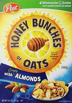 Honey Bunches of Oats Cereal with Almonds  145 oz >>> More info could be found at the image url.Note:It is affiliate link to Amazon.