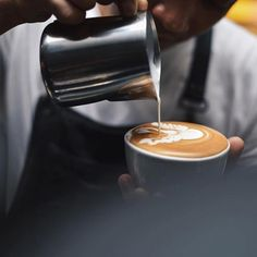TAG A BARISTA they work hard for their passion  Props to @thecoffeenatics . . . . . #baristagram #barista #latteart #pitcher #coffeeshop #coffeeshopcorners #latte
