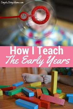 This mom of five kids under 8 gives an overview of how she teaches the early years. Lots of great ideas here!