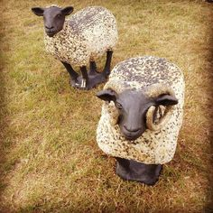 Saw these ceramic guys earlier this year #adorable #ArtinClay