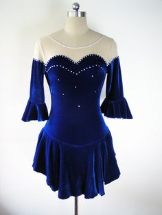 Custom Figure Skating Competition Dress by UnionBeautiful on Etsy, $79.00