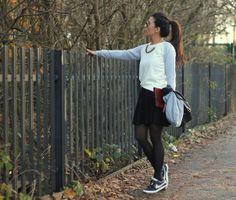 Jumper, Skirt, Nike