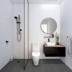 Modern Small Bathroom Design The Basic Components of Modern Bathroom Designs Modern Small Bathroom Design. Incorporating a modern bathroom design will give you a more … Laundry In Bathroom, Master Bathroom, Bathroom Small, Bathroom Black, Basement Bathroom, Small Bathtub, Design Bathroom, Colorful Bathroom, Bathroom Modern