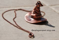 The Sorting Hat Harry Potter HOGWARTS by TheSpinySerpent, $20.95