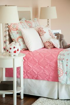 @DilwyneDesigns - children's bedroom redo with Serena & Lilly bedding