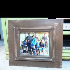 New frame design....don't have a name for it yet. This in particular is my grandparents' Christmas gift