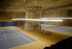 If Batman had a tennis court...