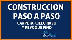 Construcción Paso a Paso: Carpetas, Cielorraso y Fino. Tutorial 12 de 14