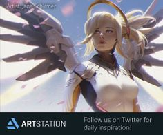 Follow ArtStation on Twitter for daily inspiration!