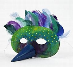 This one is a little more special, but there is a nose on the mask that's also cool ;)