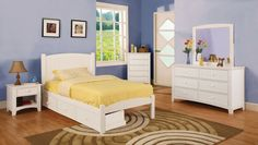 Caren Bed Collection - CM7902