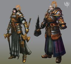 Warhammer Online: Age of Reckoning: Warrior Priest - i miss this game so much :( Dnd Cleric, Paladin, Warhammer Online, Warhammer Art, Warrior Priest, Warhammer Fantasy Roleplay, Warhammer Empire, Best Rpg, Fantasy Portraits