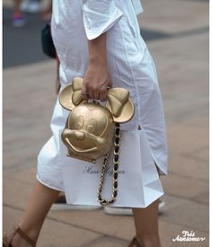The coolest clutches at #NYFW #streetstyle