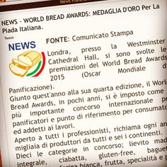 Anche PianetaPane, il portale di riferimento nazionale per i panificatori, parla di noi è del nostro ultimo successo ai World Bread Awards 2015 di Londra (UK) http://www.pianetapane.it/index.php?option=com_content&view=article&id=1935:news-world-bread-awards-medaglia-d-oro-per-la-piada-italiana&catid=7&Itemid=109 #amarcordbs #piada #piadina #pianetapane #pane #brescia #brescia_food #worldbreadaward #worldbreadawards #worldbreadaward2015 #worldbreadawards2015 #london #londra #westminster…