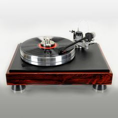 VPI Turntables - VPI Classic 3 Turntable - Rosewood - 3D Arm