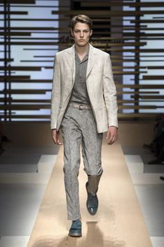 Ferragamo Men's SS15 Runway Collection