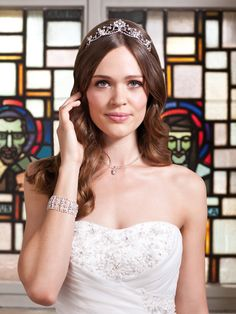 Brautkleid mit Schleppe von Kleemeier