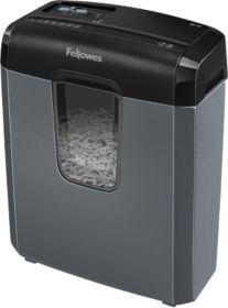 Make your day more productive with the help of this Fellowes shredder that shreds continuously for up to 3 minutes.