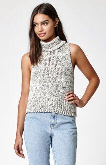 Turtleneck Sweater Tank Top