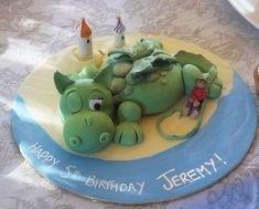 puffthe magic dragon cake