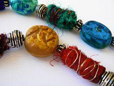projects using silk sari ribbon - Google Search
