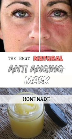 Natural Anti-Aging Mask - 6 Anti Aging Homemade Remedies with An Immediate Botox Effect