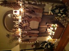 Christmas Mantel 2012