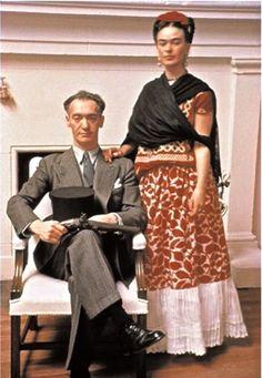 Frida Kahlo & Nickolas Muray; Une idylle qui durera 3 mois dans les années 38-39, avec ce célèbre photographe Newyorkais