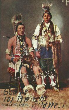 Blackfoot dancers - no date