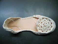 Realización de Zapatos, 2ª parte. | esdovi.com ( El Señor de los Ovillos )