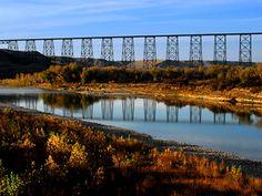 Trestle Bridge in Lethbridge AB