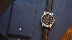 The Montblanc Summit smartwatch is priced at a minimum of 89 … – Clock World Montblanc Summit, Android Wear, Smartwatch, Tech News, Luxury Branding, Clock, Fancy, Parker Urban, Accessories